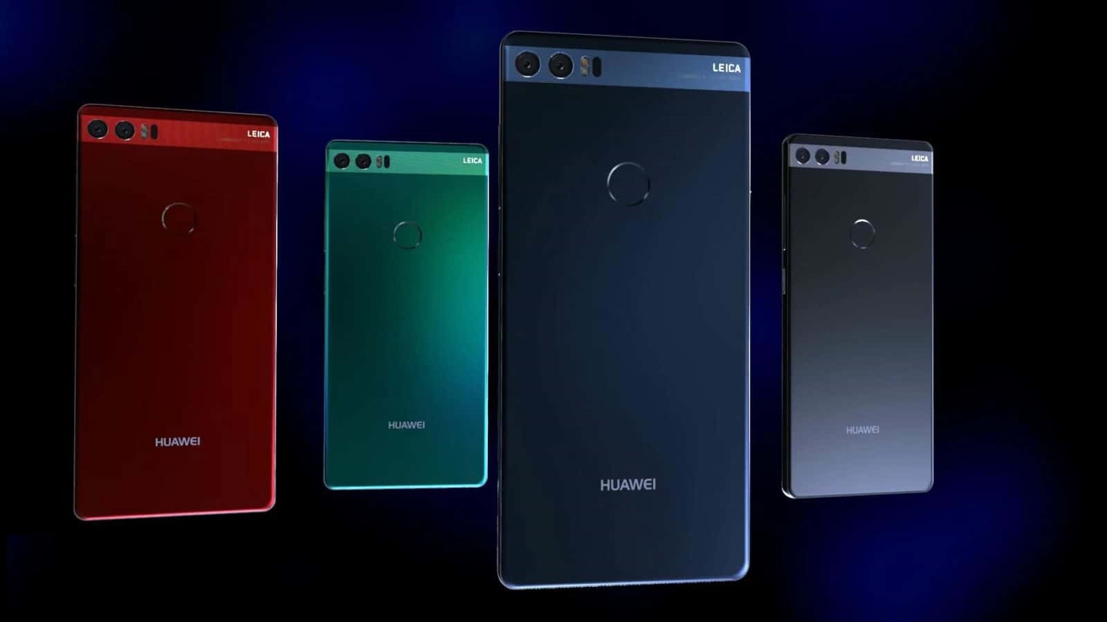 Huawei P11 skeleton looks which likely to be released February 2018 and most like Samsung Galaxy ...