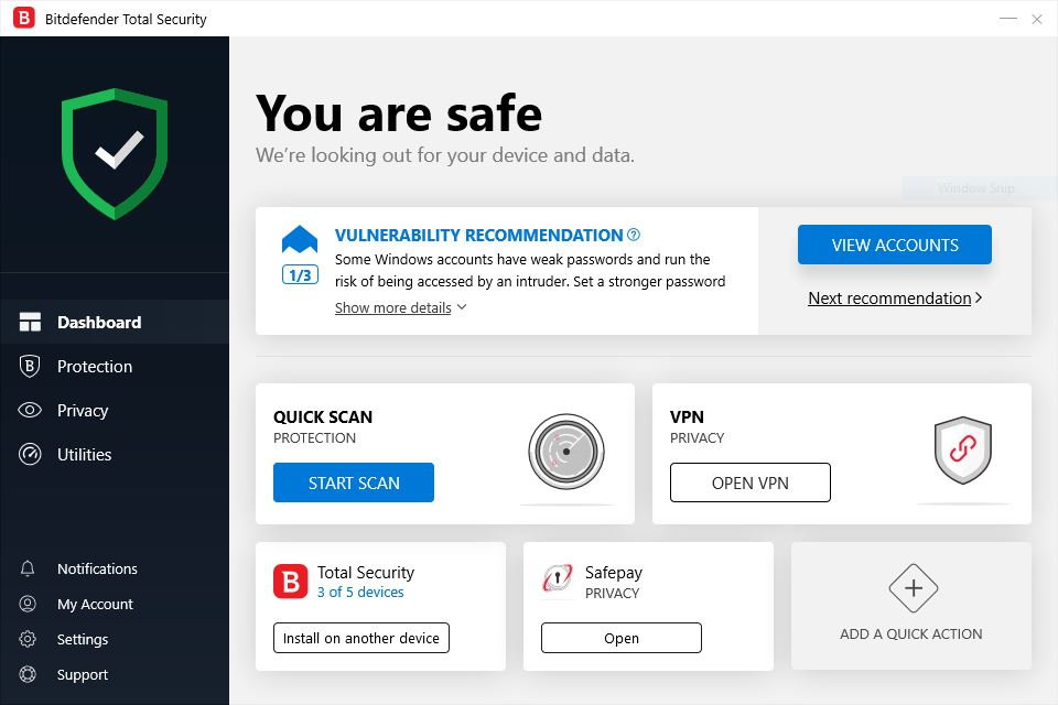 Review Antivirus Bitdefender Total Security 2020 - gambar4