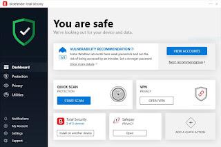 Review Antivirus Bitdefender Total Security 2020 - gambar4