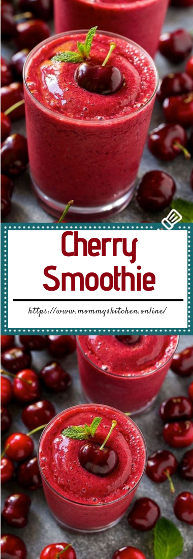 Cherry Smoothie #juice #freshdrinkhealthy