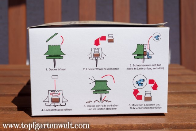 Anleitung zum Zusammenbau der Schneckenfalle SchneckeX - Gartenblog Topfgartenwelt