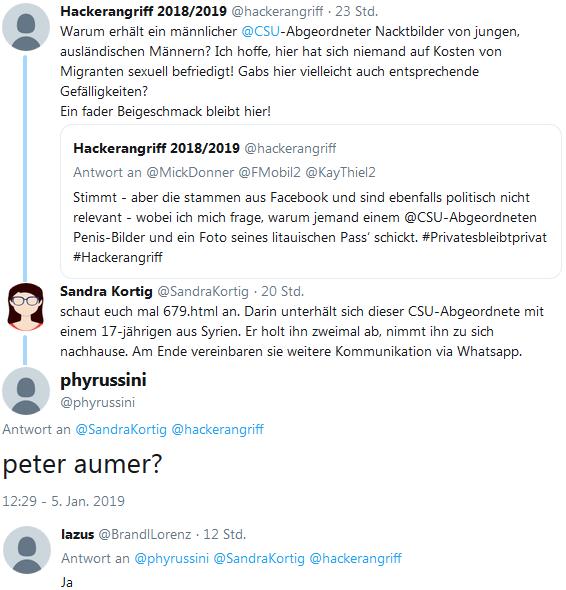 Anzeige gegen Peter Aumer