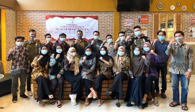 Lembaga Bantuan Hukum Suara Rakyat Banten, Gelar Launching Perdana