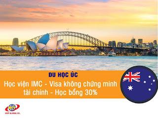 Du học Úc: Học Tài chính, Kế toán, Kinh doanh Học viện IMC – Chi phí thấp – Học bổng 30%