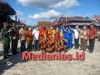 TNI AL Nias Menerima kunjungan Komandan Lantamal II Padang