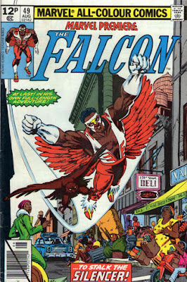 Marvel Premiere #49, the Falcon