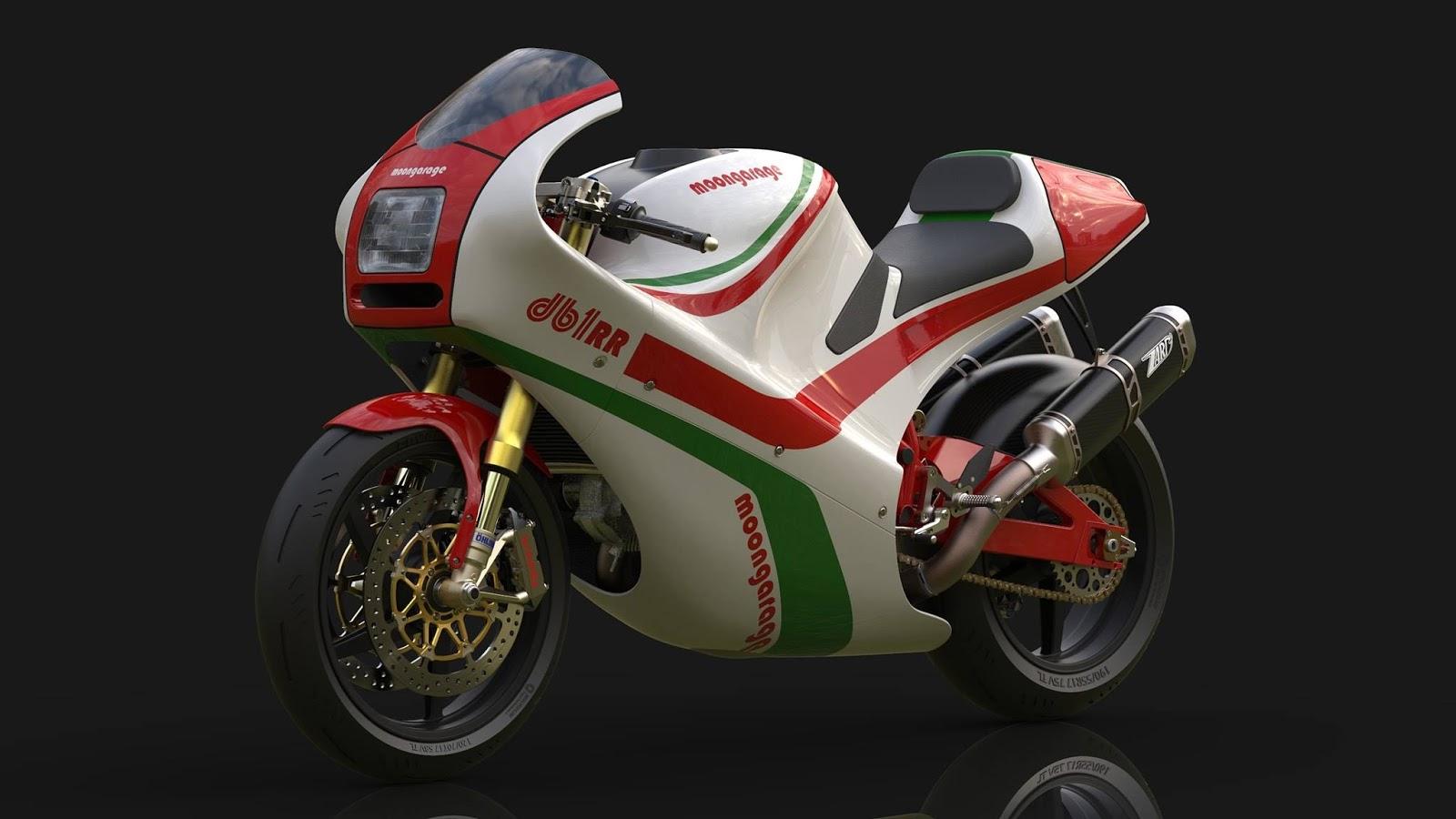 Racing Caf U00e8  Bimota Db1 Rr By Moon Garage