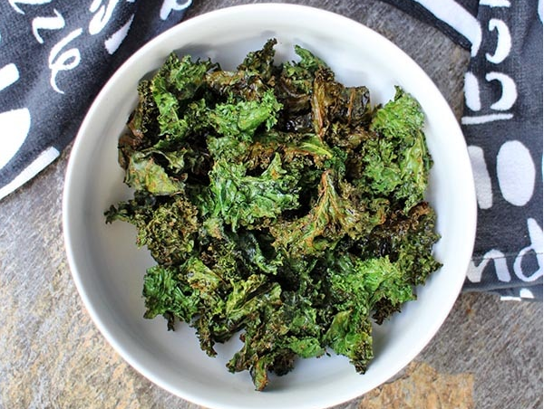 Air Fryer Ranch Kale Chips #vegan #vegetarian #soup #breakfast #lunch