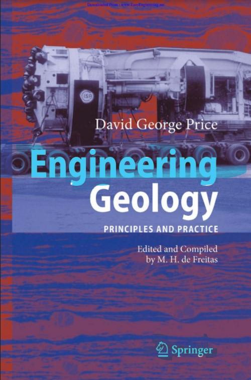 Engineering Geology Principles and Practice David George Price in pdf