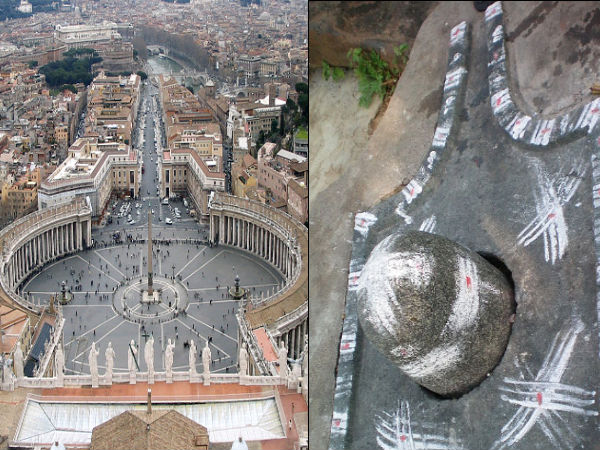 Vatican and Shiva Linga - what's the connection ?