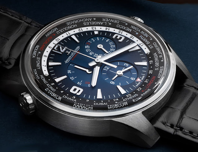 Jaeger-LeCoultre - Polaris Geographic WT Limited Edition