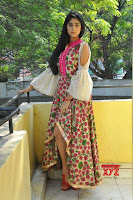 Palak Lalwani looks beuatiful in pink White Anarkali Dress From Juvva Movie Promotions ~  Exclusive Galleries 042.jpg