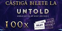 Castiga invitatii duble la Untold 2019 - concursuri - online - bilete - festival - cluj - vara - castiga.net - kaufland