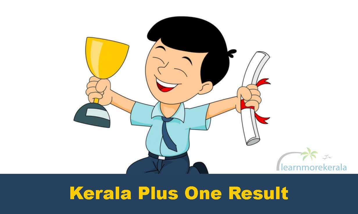 Kerala Plus one result 2019