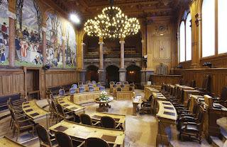 La salle du Conseil national
