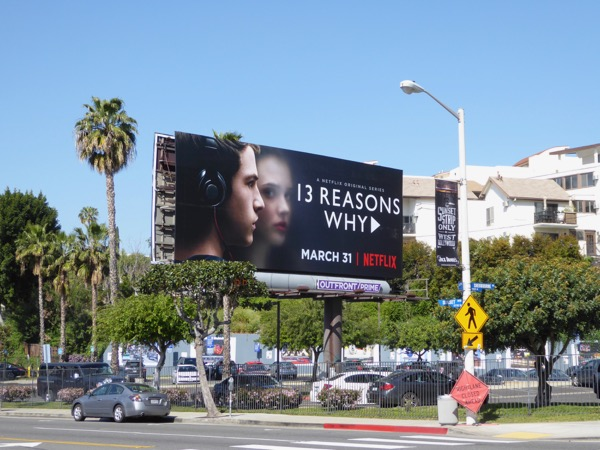 13 Reasons Why TV billboard