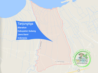 PETA : Desa Tanjungtiga, Kecamatan Blanakan