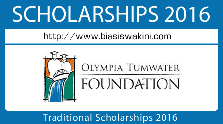 Olympia Tumwater Foundation Traditional Scholarships 2016