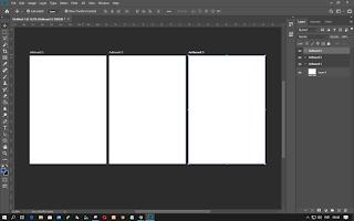 Adobe Photoshop CC SUdah Menggunakan Artboard