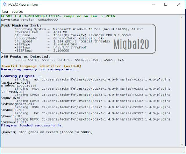 Cara Ampuh Setting PCSX2 1.4.0 di 50+ fps - miqbal20