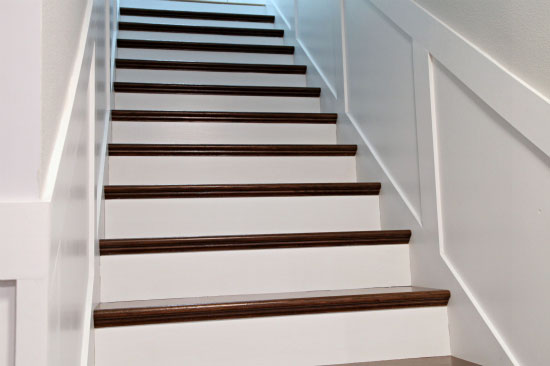 Iheart Organizing Do It Yourself Stairway Handrail