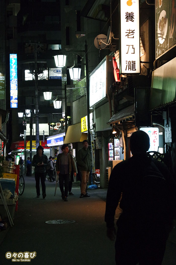 uguisudani tokyo by night