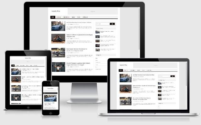 Template Blogger Gratis Responsive dan Mobile Frendly tahun 2020