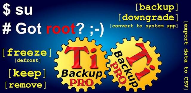 تطبيق Titanium Backup Pro v8.2.2 Apk لأخذ نسخه احتياطيه للاندرويد بسهولة logo