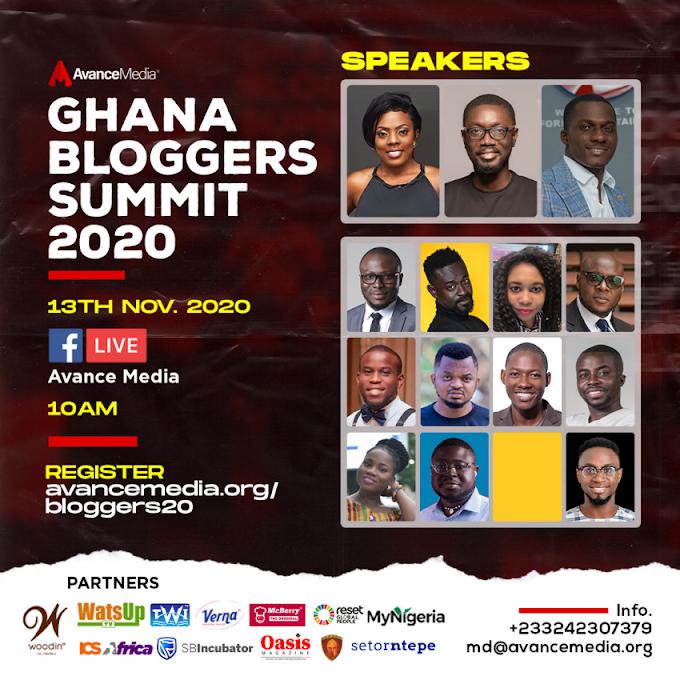 Nana Aba Anamoah, ZionFelix and Ameyaw Debrah to speak at 2020 Ghana Bloggers Summit