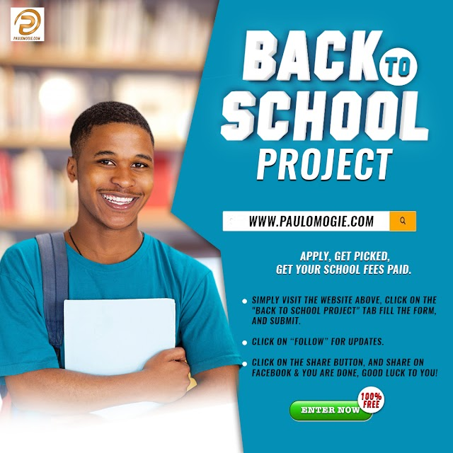 Back to School Project Project: Get Your Tuition Paid