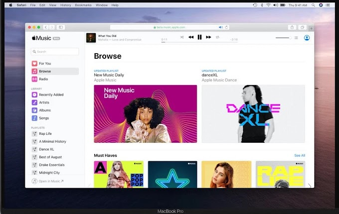 Apple Music lance une version publique sur le Web