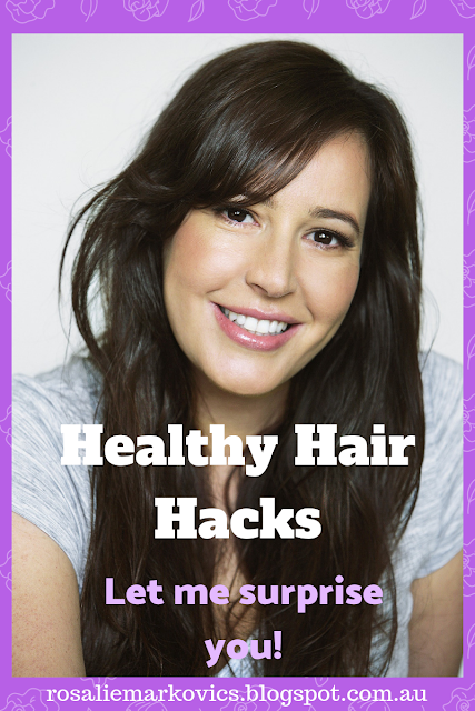 Healthy hair hacks