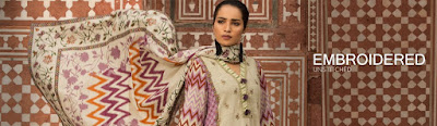 Warda winter embroidered unstitched collection