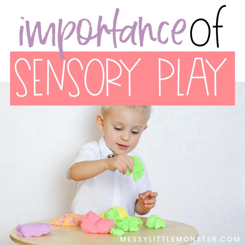 Importance of sensory play and sensory play ideas