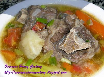 Sop Buntut, Sup Buntut, Indonesian Oxtail Soup