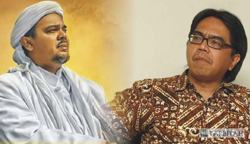 Ade Armando vs Habib Rizieq