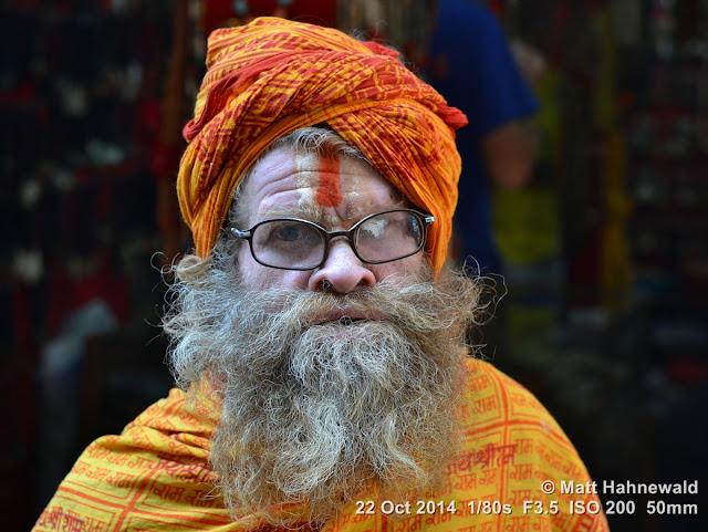 people, closeup, street portrait, Nepal, Kathmandu, sadhu, Hinduism, holy man, religious ascetic, yogī, mokṣa