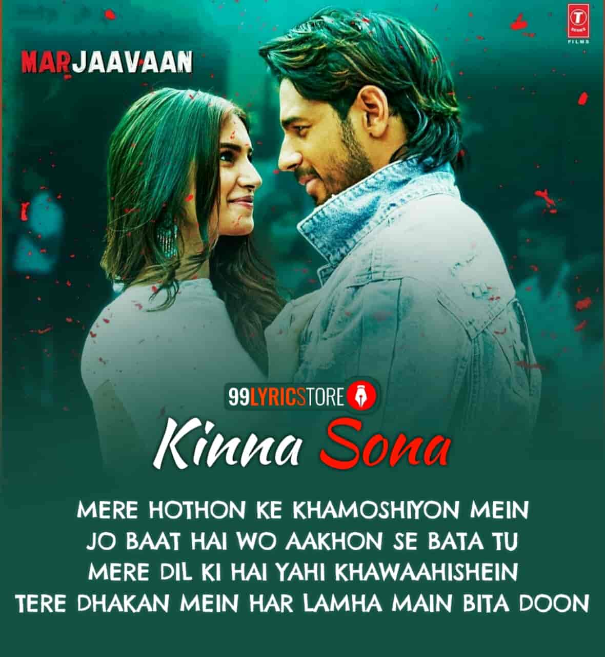 Kinna Sona Marjaavaan Song Images
