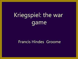 Kriegspiel: the war game