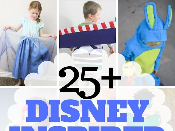Easy DIY Disney Costumes to Sew
