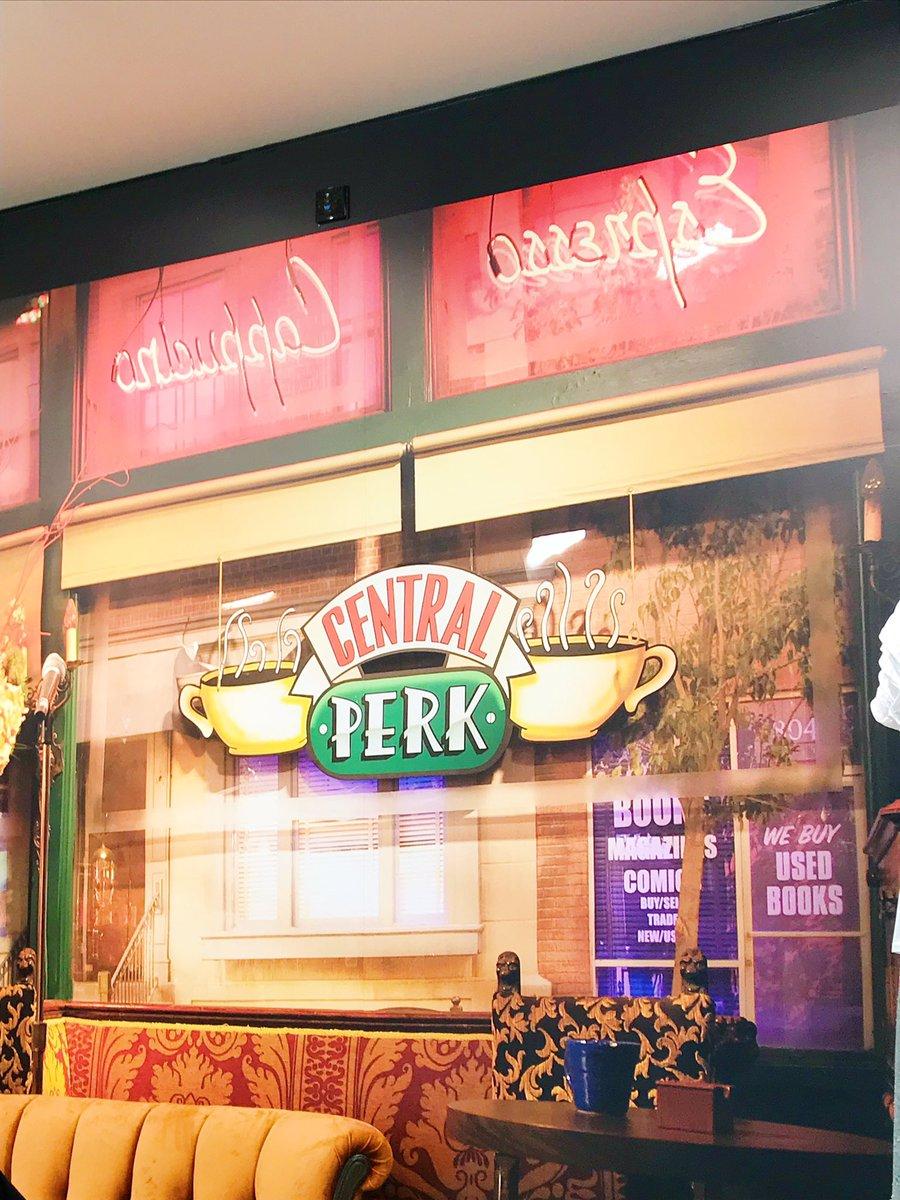 friends cafe at Primark