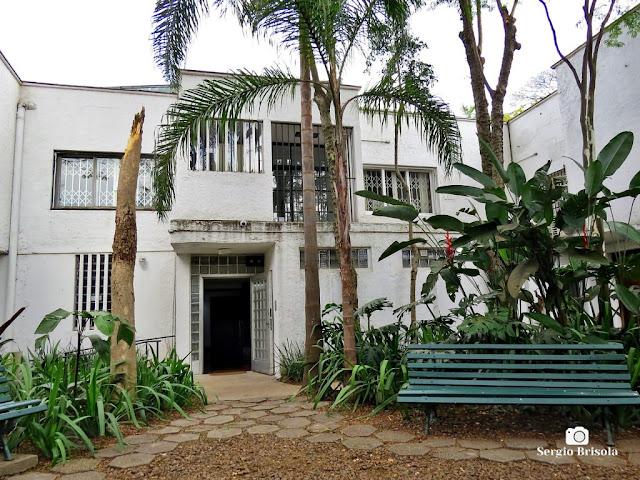Vista dos fundos do Museu Lasar Segall na Vila Mariana - São Paulo