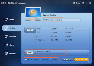 Backup Dan Restore Windows Kamu Dengan Aplikasi AOMEI Backupper 4.1