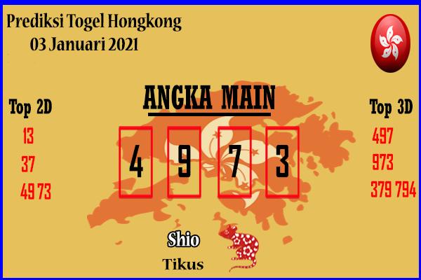 Bocoran HK 3 Januari 2021