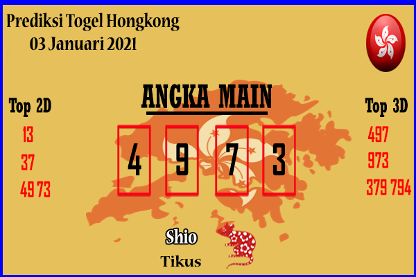 Bocoran Togel Hongkong 3 Januari 2021
