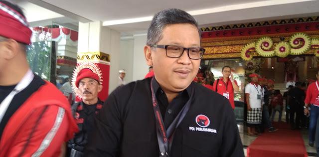 Hasto Kristiyanto Kembali Duduki Kursi Sekjen PDIP