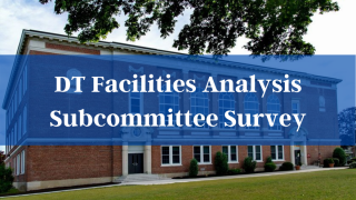 Davis Thayer Facilities Analysis Survey - open now; closes Dec 2, 2020