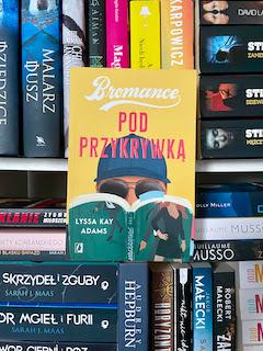 """""""Pod przykrywką"""" Lyssa Kay Adams, fot. paratexterka ©"""