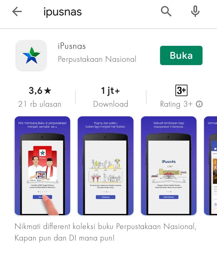 Aplikasi membaca novel gratis