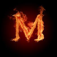 صور حروف m